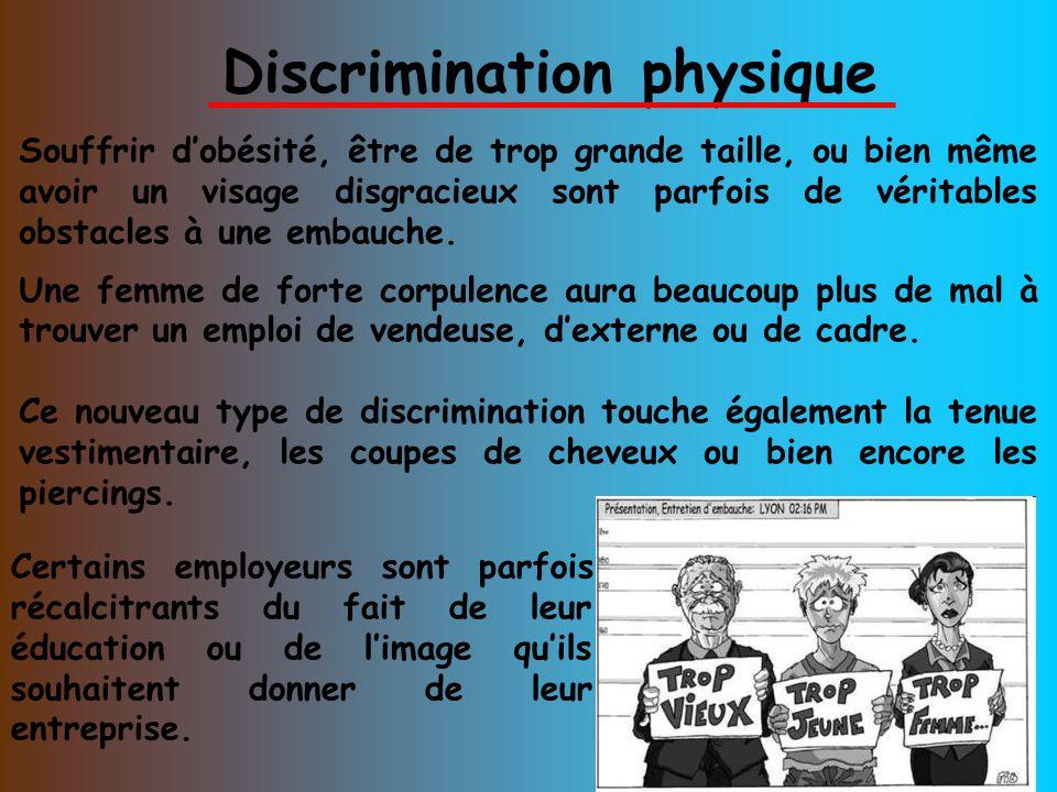 discrimination physique