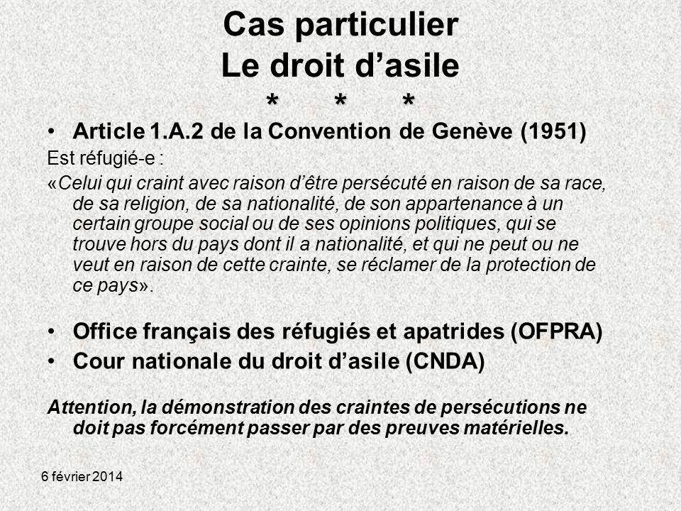 Acc s aux droits des personnes trang res de l asile au - Office francais de protection des refugies et apatrides ...