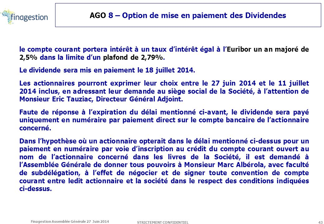 Assemblee generale finagestion ppt t l charger - Plafond compte courant credit agricole ...