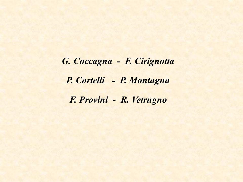 G. Coccagna - F. Cirignotta