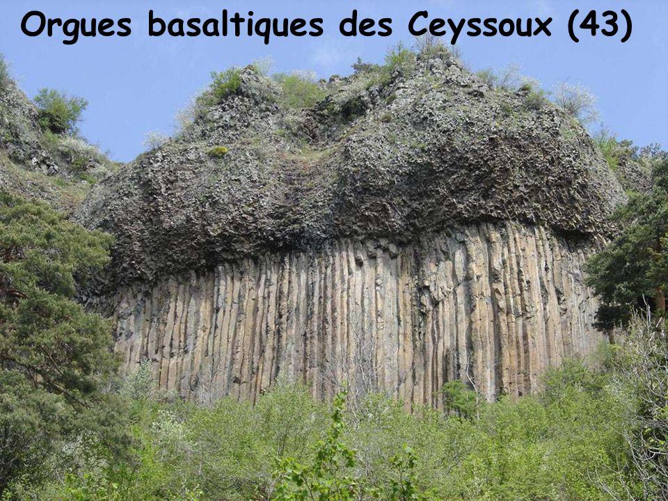Orgues basaltiques des Ceyssoux (43)