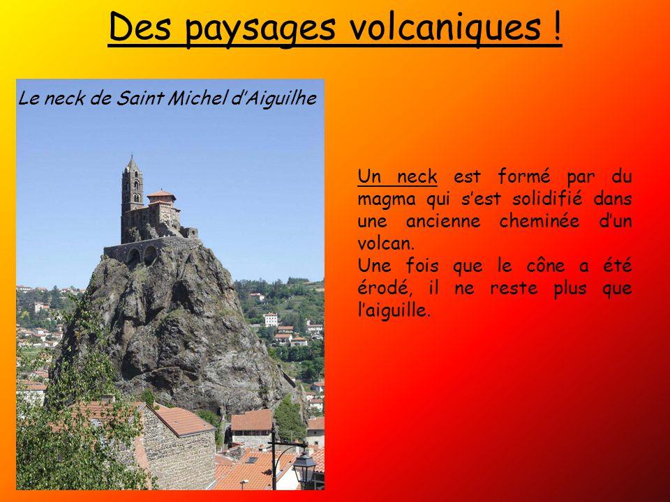 Des paysages volcaniques !
