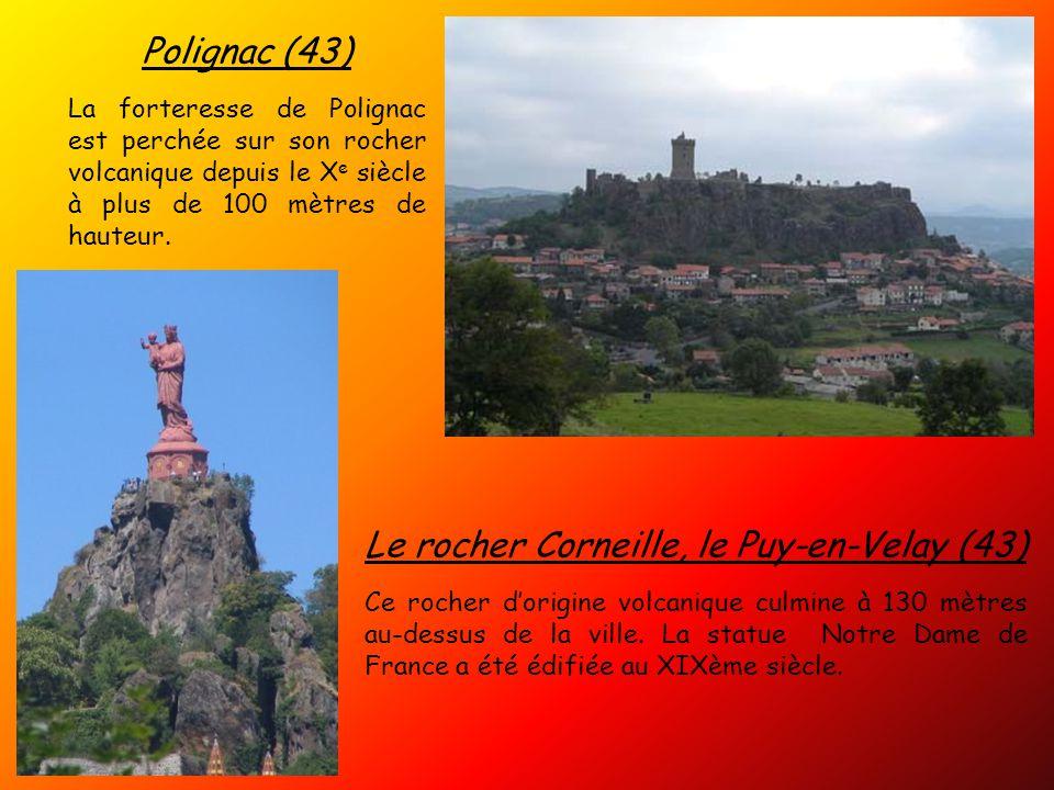 Le rocher Corneille, le Puy-en-Velay (43)