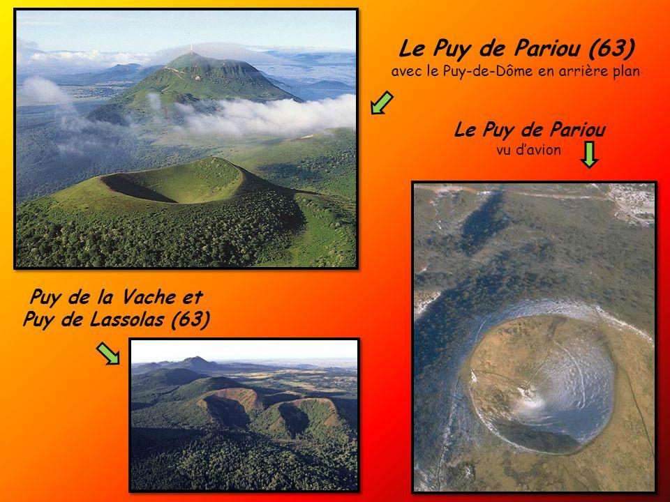avec le Puy-de-Dôme en arrière plan