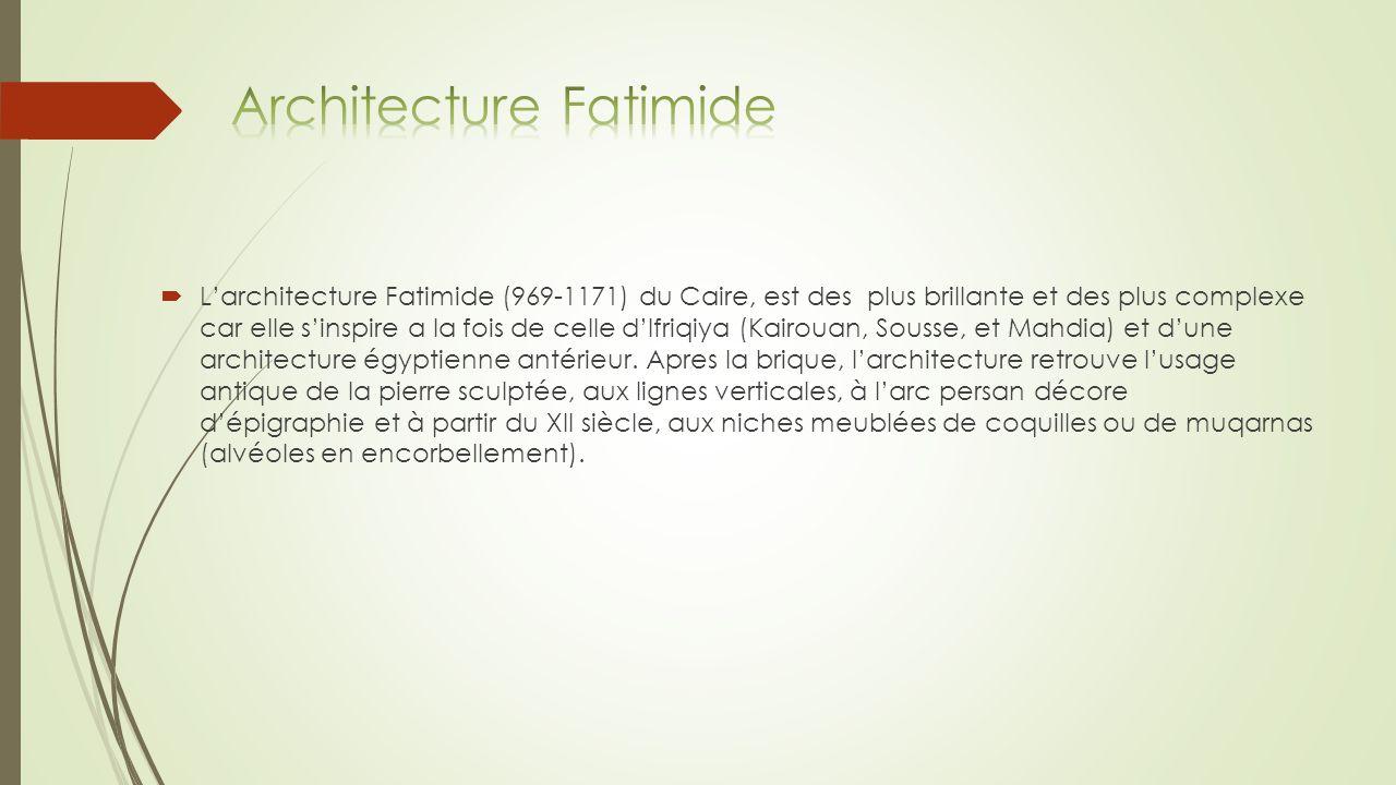 Architecture Fatimide