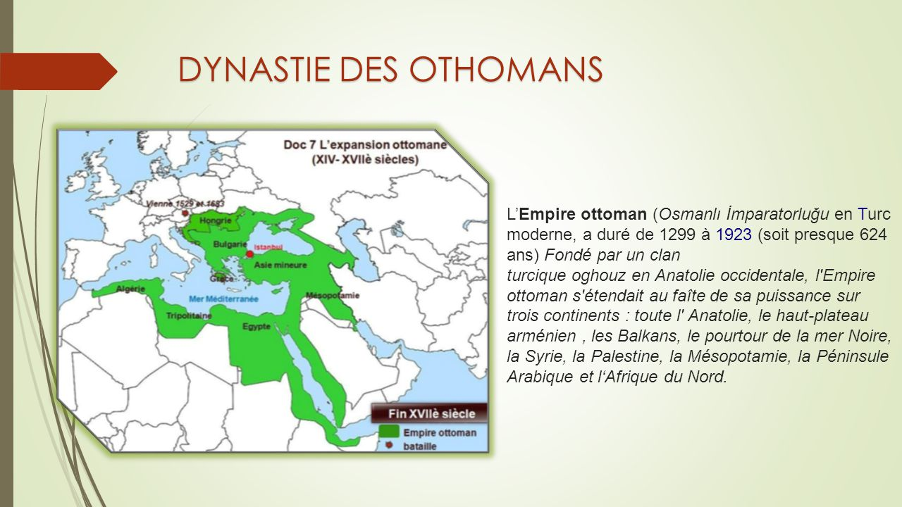 DYNASTIE DES OTHOMANS