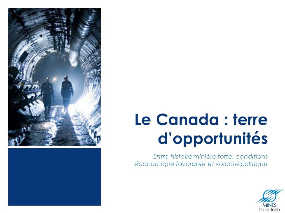 Le Canada : terre d'opportunités