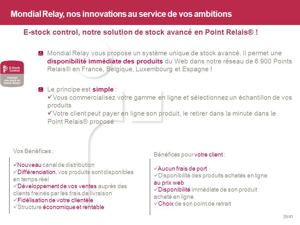 Mondial relay 1er op rateur europ en de livraison du e - Point relais luxembourg ...