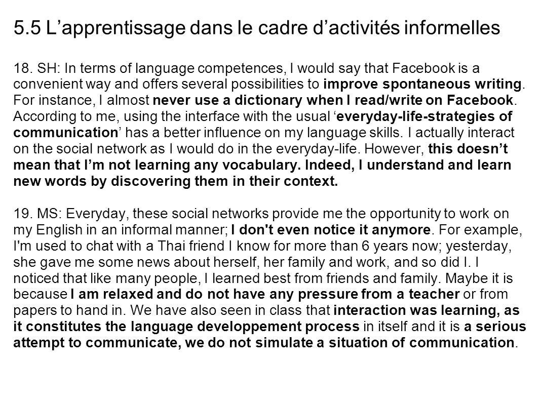 family influence on language skills