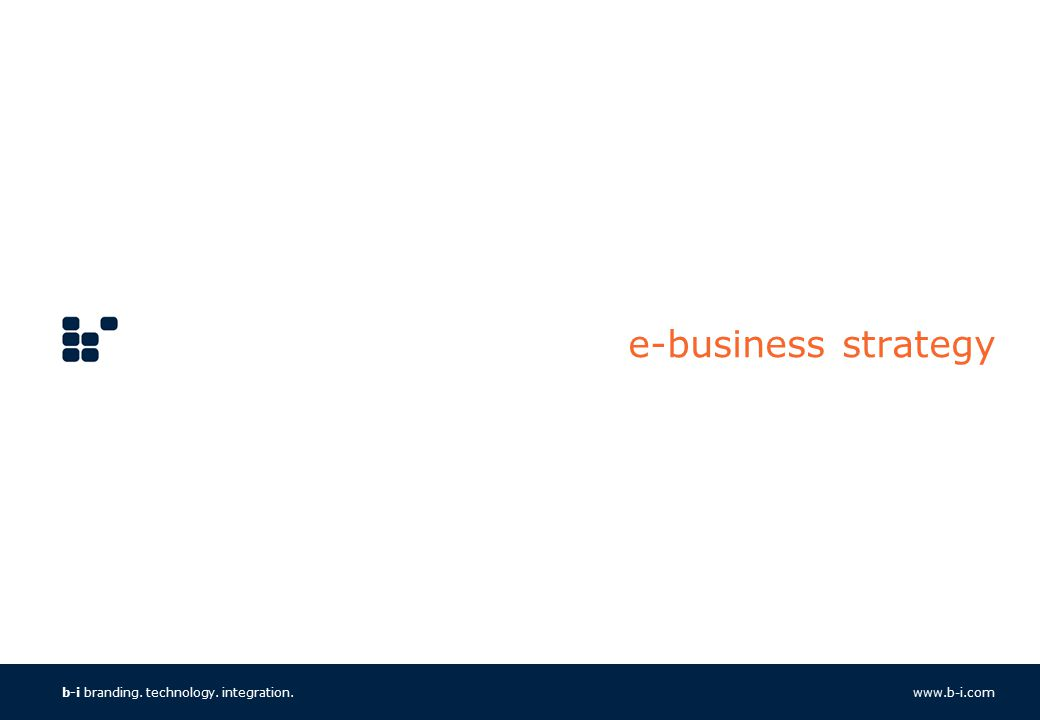e business strategy E-business strategies: with the arrival of the internet facilities and plenty of web development technologies all over the world, e-business is the new talk of .