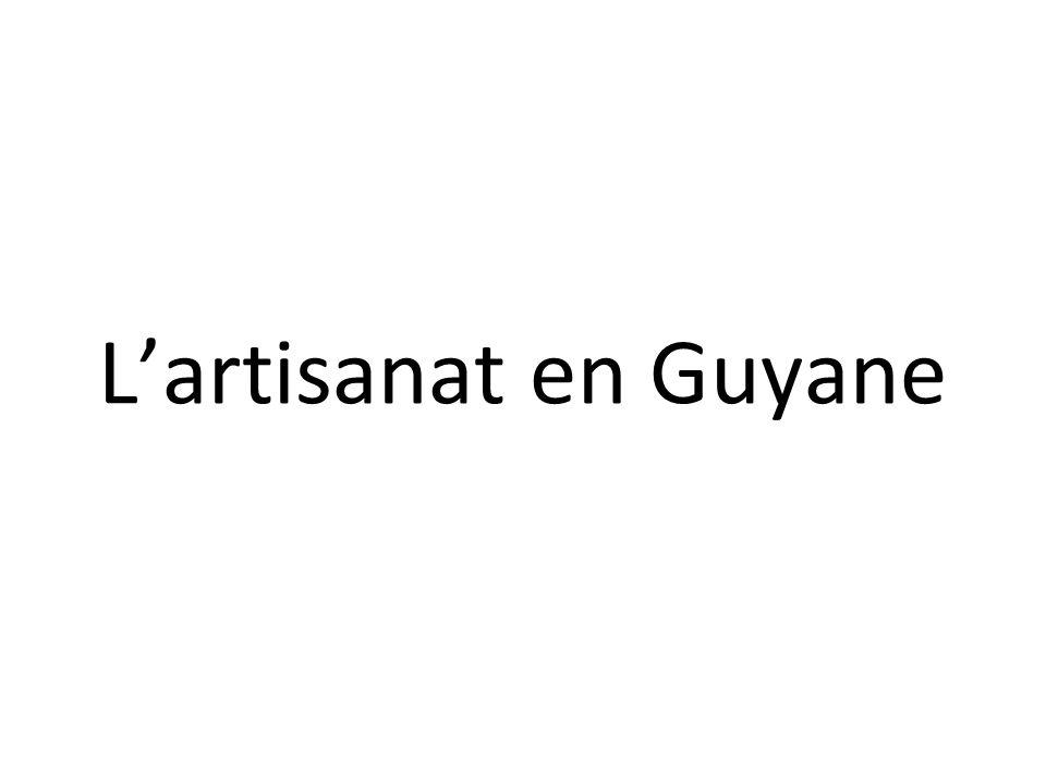 Artisanat De Guyane : la guyane il y a plus de ans les premiers habitants d ~ Premium-room.com Idées de Décoration