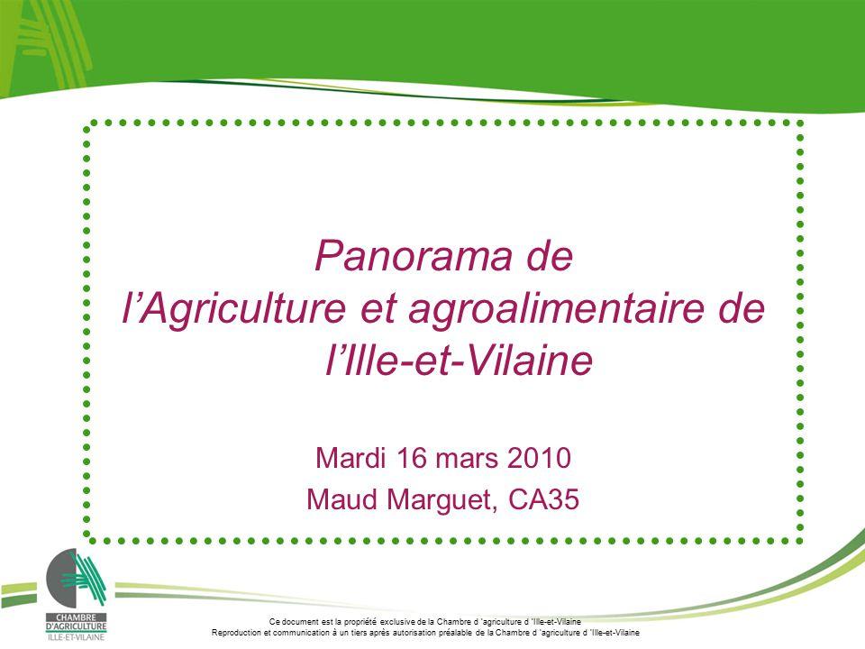 Lu0027Agriculture Et Agroalimentaire De Lu0027Ille Et Vilaine