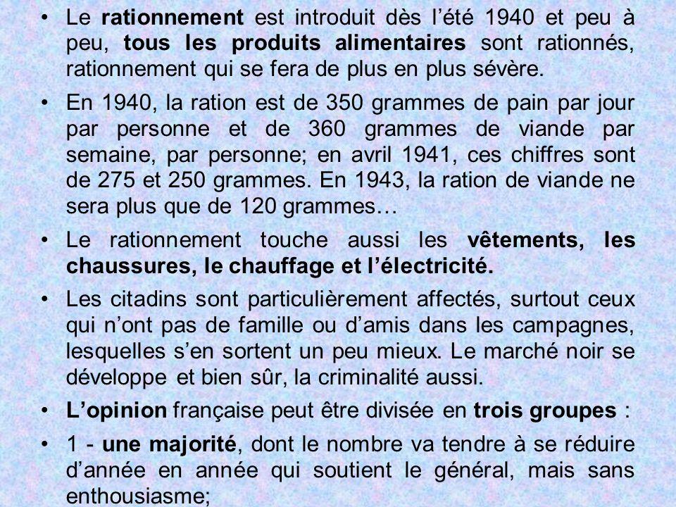 Histoire de la france contemporaine ppt t l charger - Quantite de viande par personne par jour ...