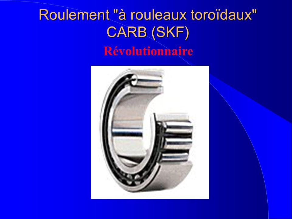 Roulement à rouleaux toroïdaux CARB (SKF)