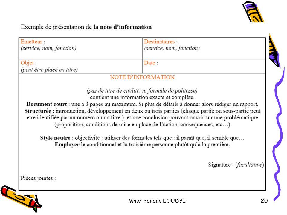 d u00e9finitions   note d u2019information    note de service