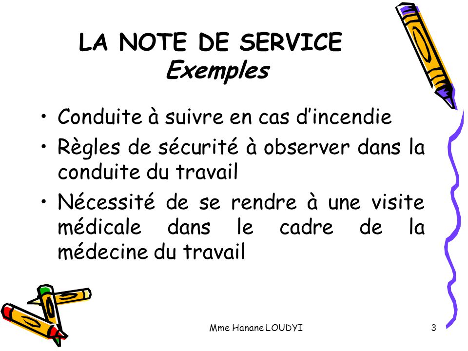 d u00e9finitions   note d u2019information    note de service