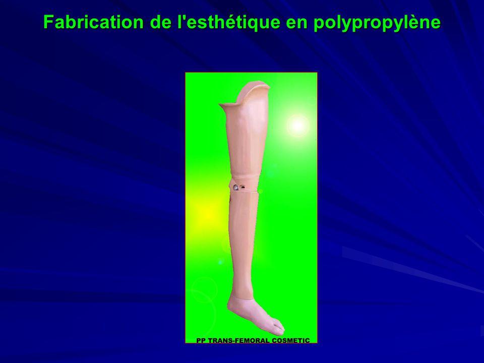 Fabrication de l esthétique en polypropylène