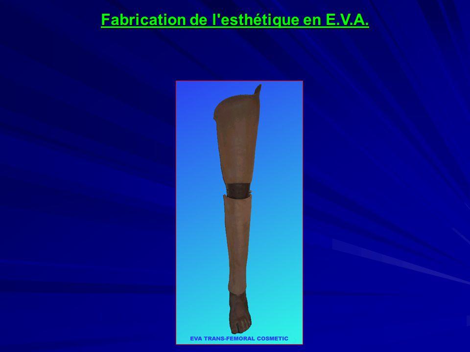Fabrication de l esthétique en E.V.A.