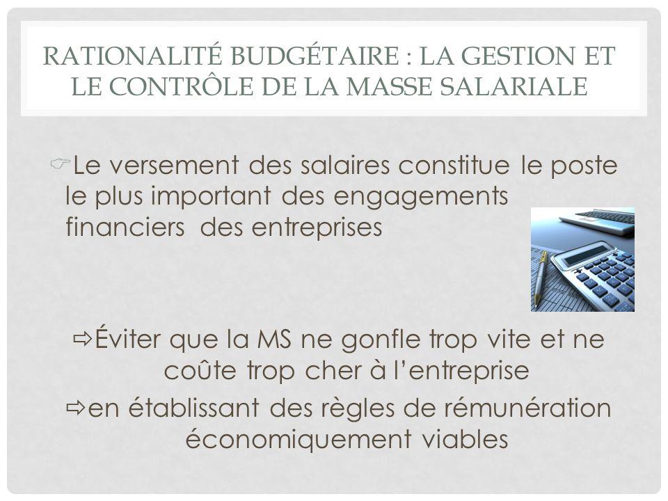 en établissant des règles de rémunération économiquement viables