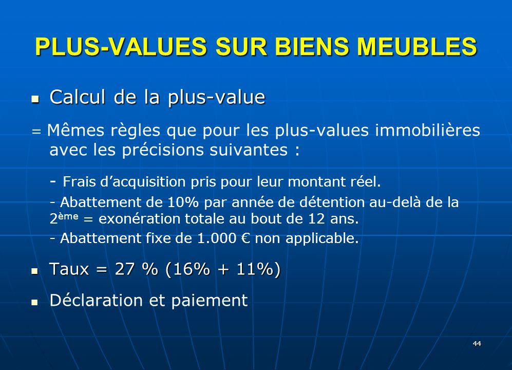 L imp t sur le revenu categories de revenus 3 ppt - Declaration loyers meubles non professionnels ...