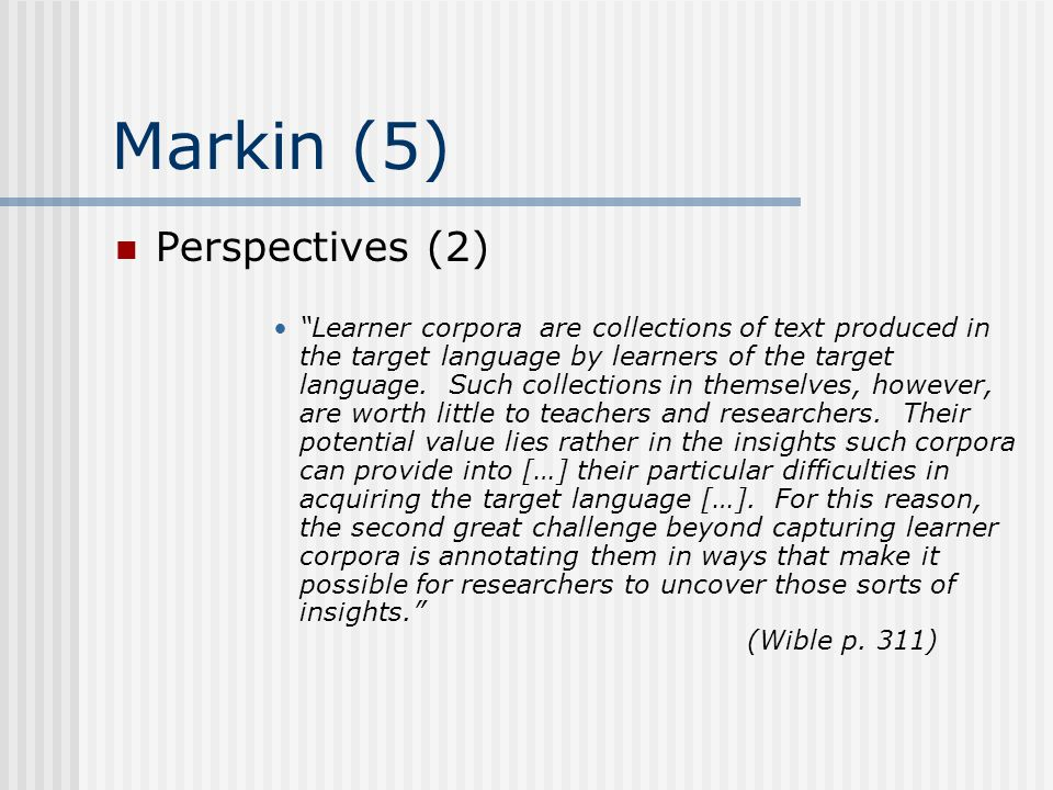 Markin (5) Perspectives (2)