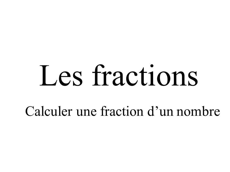 Les fractions vocabulaire d finition repr senter une for Calculer le nombre de parpaing