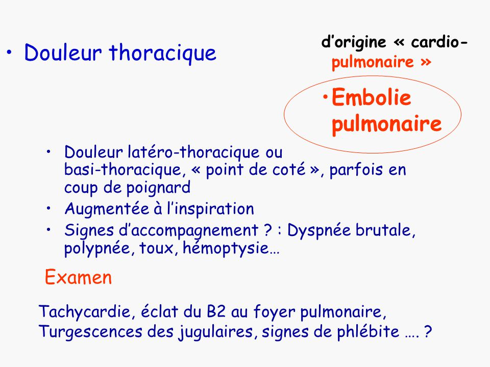 la douleur thoracique pr herv le breton mercredi 1er octobre ppt video online t l charger. Black Bedroom Furniture Sets. Home Design Ideas