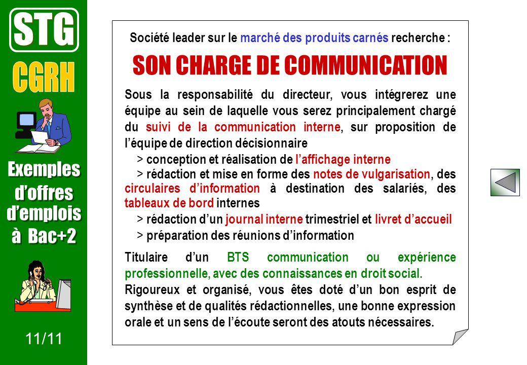 Offre d emploi charge de communication interne - Offre d emploi office manager ile de france ...