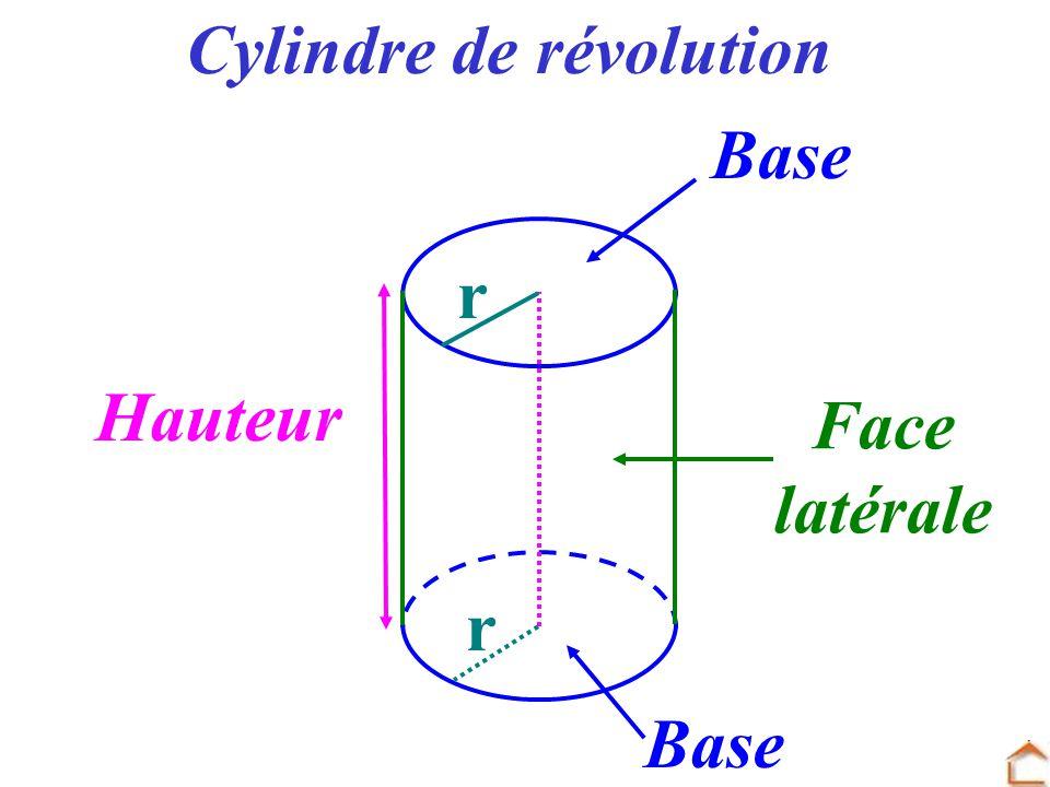 Cylindre de r volution ppt video online t l charger - Definition de hauteur ...