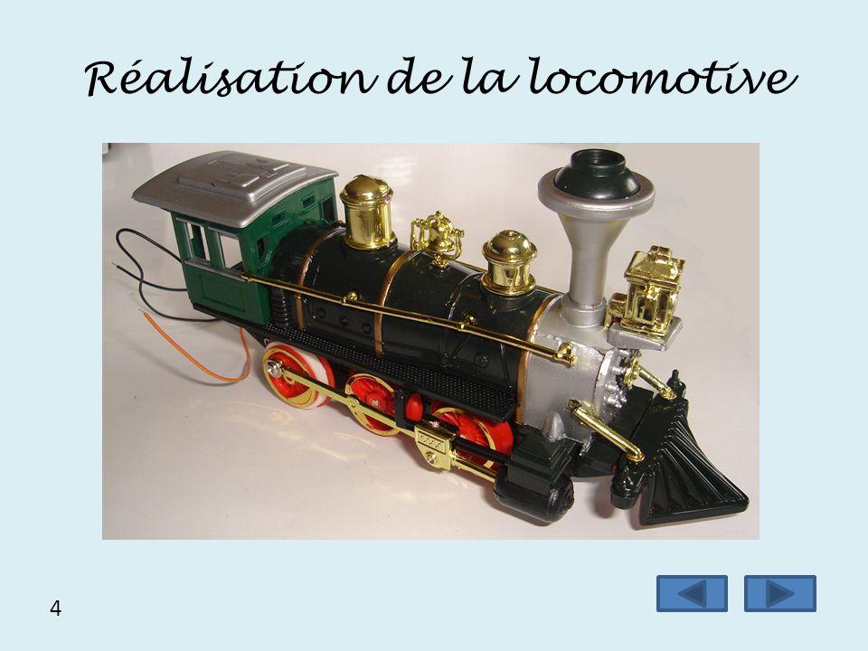 Réalisation de la locomotive