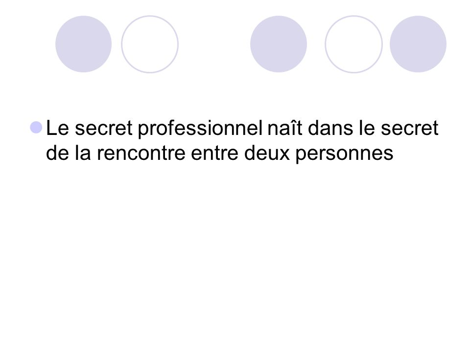 Rencontre secret