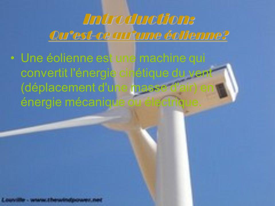 Le principe de fonctionnement d une olienne ppt t l charger for Qu est ce qu une energie renouvelable