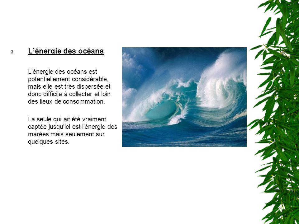 L'énergie des océans