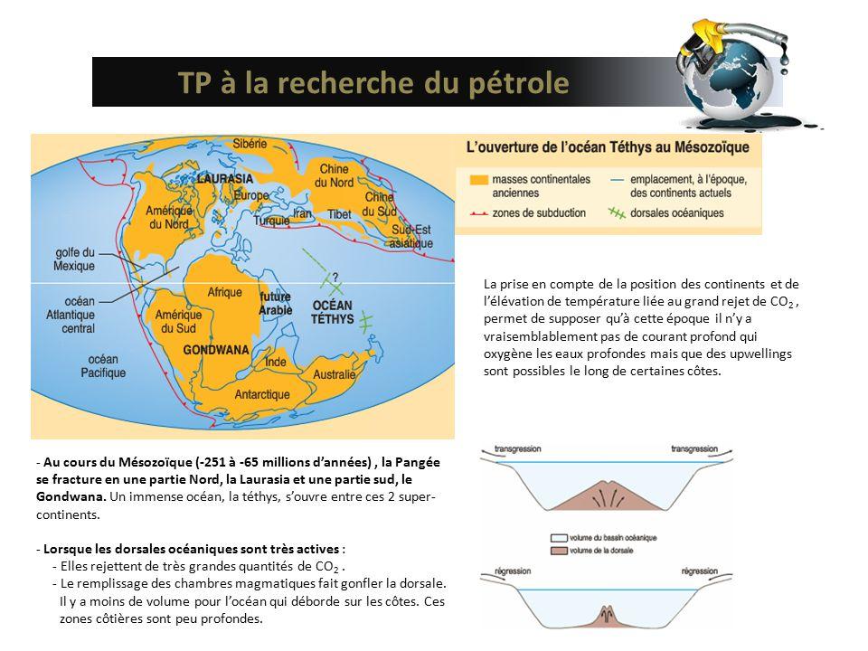 TP à la recherche du pétrole