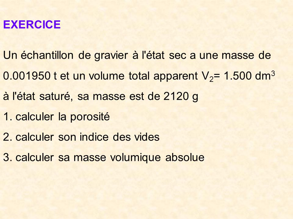 Cours materiaux de construction ppt video online t l charger for Calculer son volume de demenagement