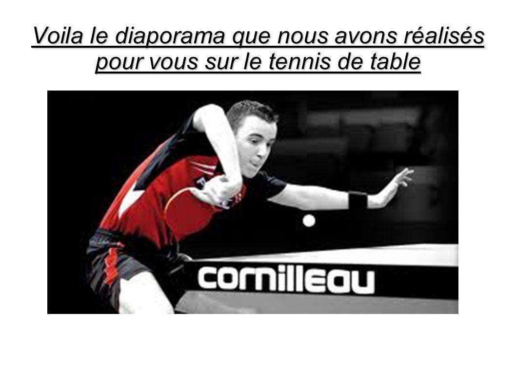 Le tennis de table est un sport de raquette opposant au - Colle pour raquette de tennis de table ...