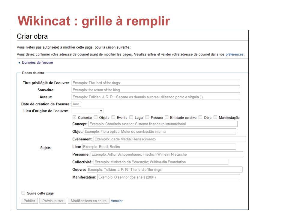 Wikincat : grille à remplir