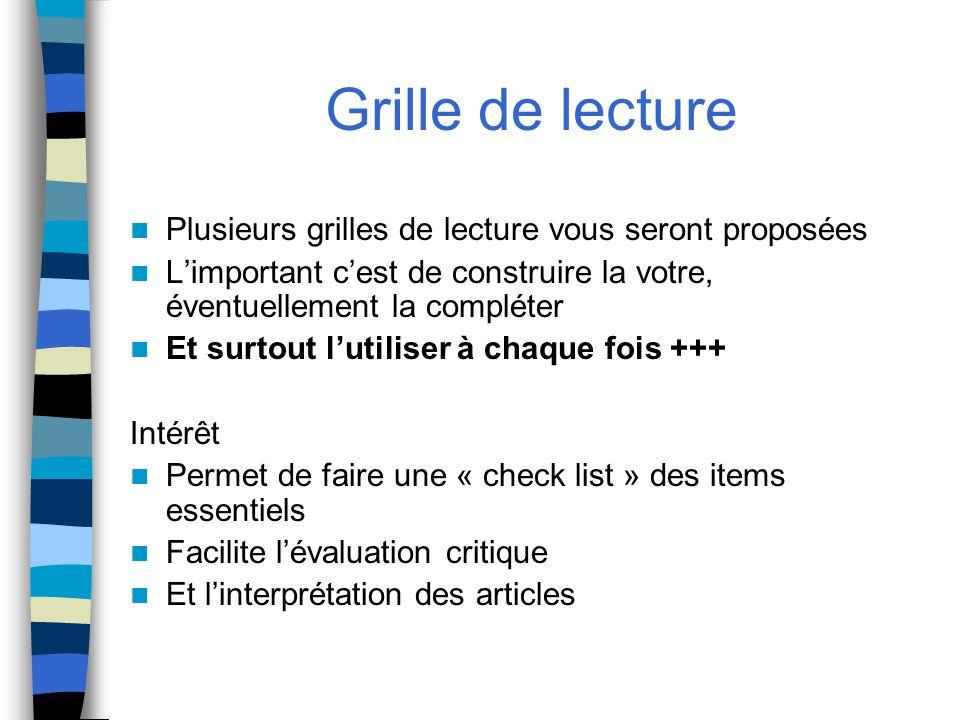 Lecture critique d article ppt t l charger - Comment faire une grille d evaluation ...