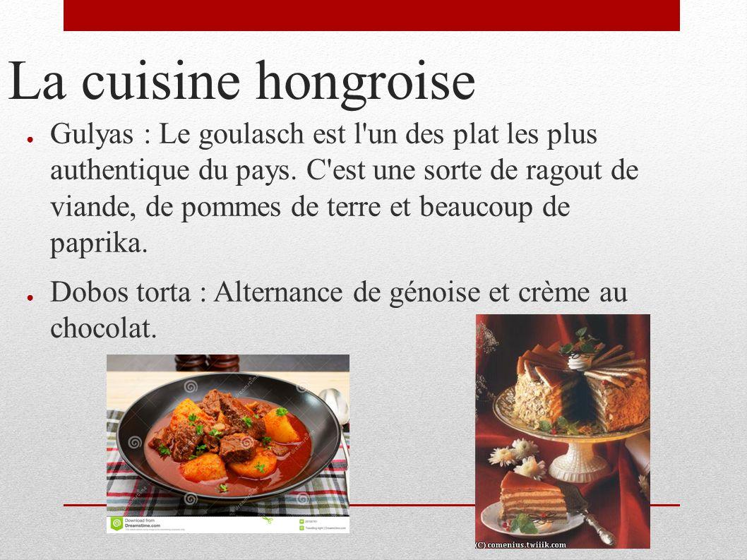 Voici mon expos sur la hongrie ppt t l charger for Cuisine hongroise