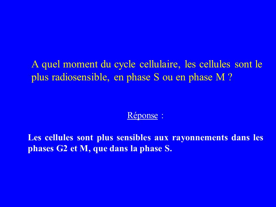 Radiobiologie radiopathologie ppt video online t l charger - A quel moment tailler les rosiers ...