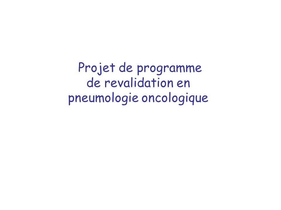 Rencontres vaudoises de pneumologie
