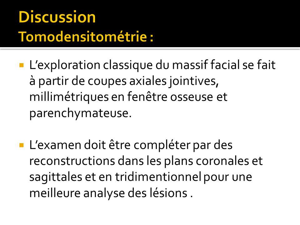 Etude analytique et apport de l imagerie dans les for Fenetre mandibulaire