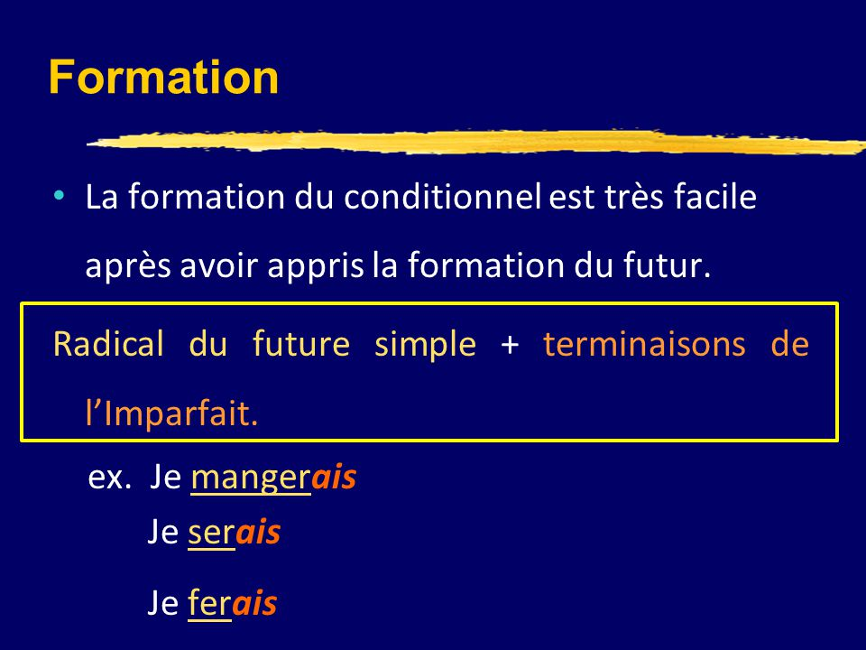 le conditionnel pr u00e9sent