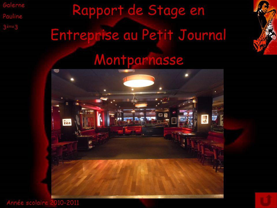 Entreprise au Petit Journal