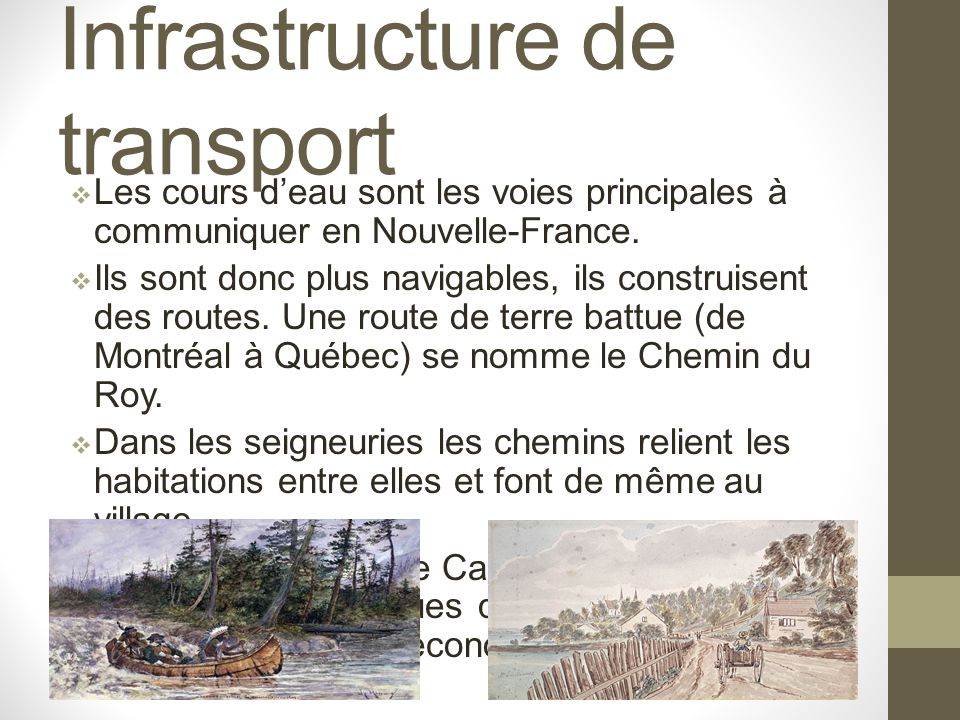 Infrastructure de transport