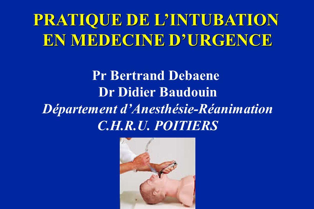 ETUDE DE L'ORGANISATION DES DIFFERENTS SYSTEMES D'URGENCE ...