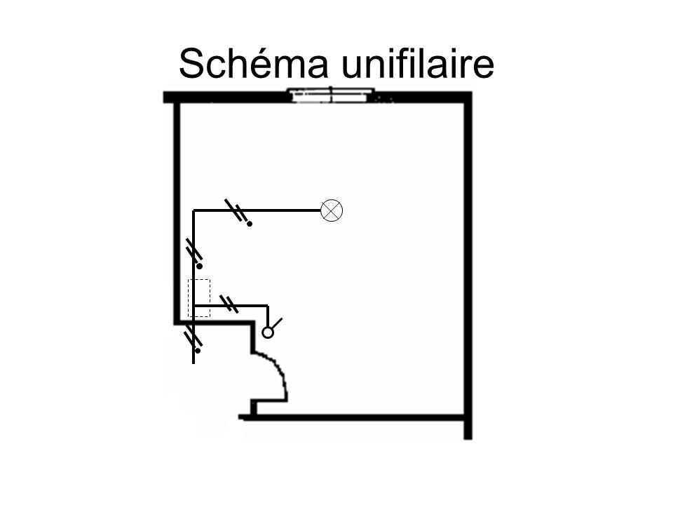 Schéma unifilaire E1 Q1