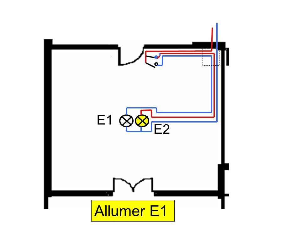 E1 E2 Allumer E1