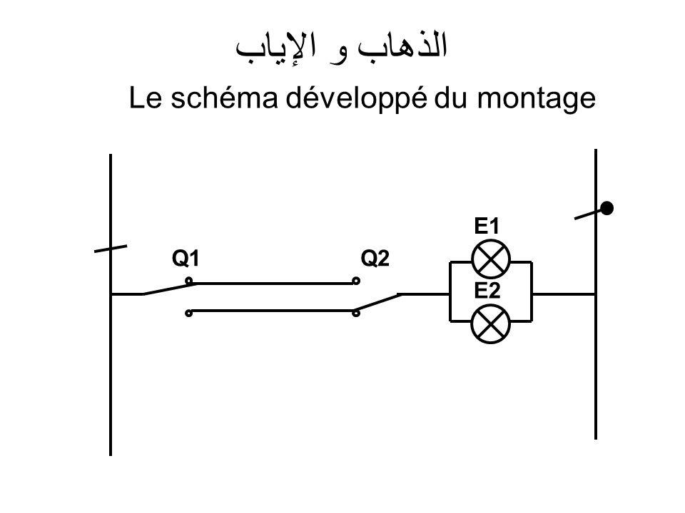 Le schéma développé du montage