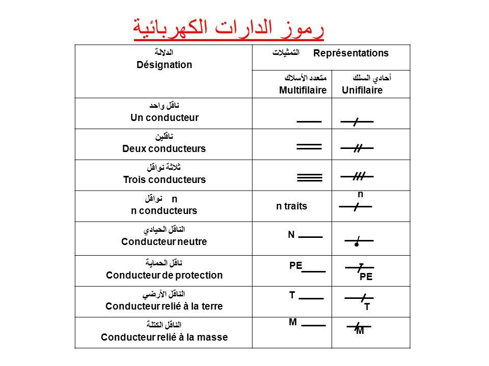 رموز الدارات الكهربائية